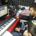 הקלטת שירה ופסנתר